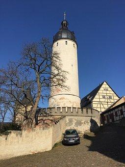 Altenburg, Tower, Residenzschloss, Castle, Architecture