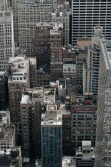 Skyscraper, City, Architecture, Urban Landscape