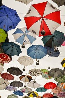 Umbrella, Parasol, April Weather, Screens, Art
