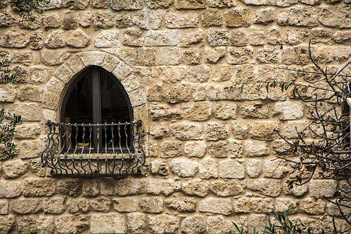 Wall, Old, Stone, Architecture, Brick, Israel, Joppa