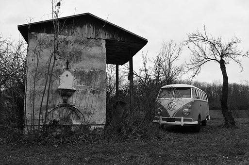 Vw, Volkswagen, Oldtimer, Bus, Classic, T1, Bulli