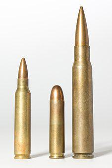 Cartridges, Muniiton, Caliber, Weapons, Sleeves, Pistol