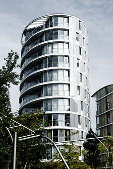 Architecture, City, Building, Modern, Glass Facade
