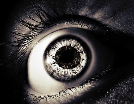 Clock, Time, Surreal, Eye, Close Up, Watch, Face