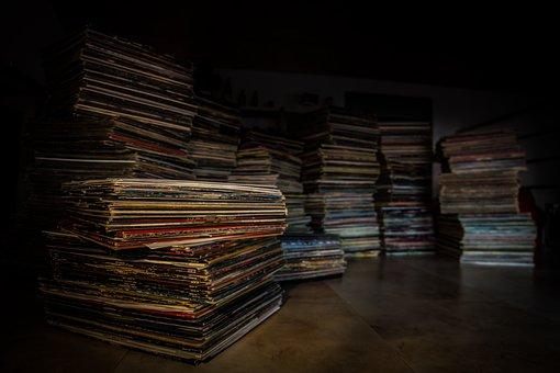 Vinyl, Collection, Disk, Retro, Entertainment