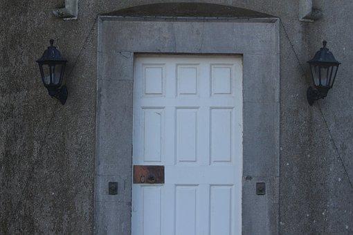 Door, Architecture, Doorway, Entrance, House, Old, Wall
