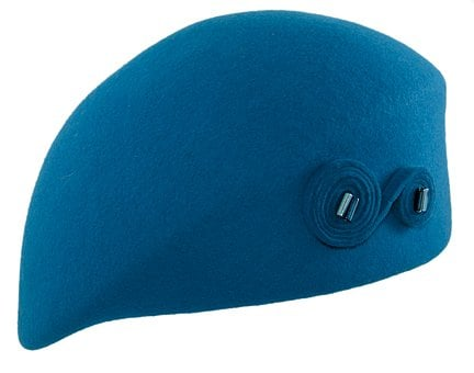 Takes Blue, Hat Female, Takes Filcowy, Felt, Beret