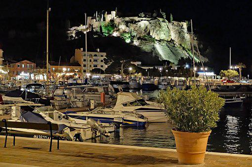 Harbour, Mediterranean, Cassis, Castle, City, Tourism