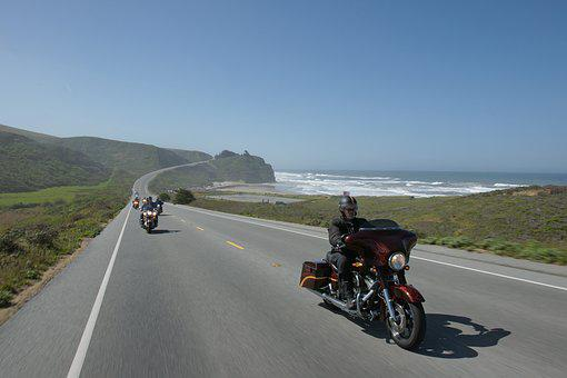 Road, Driving, Ride, Cruising, Motorcycle