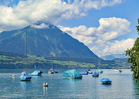 Switzerland, Thun, Mountain, Sneezing, 2362 Meters