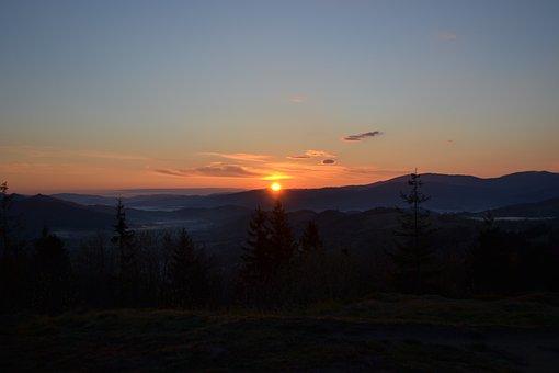 Sunrise, The Dawn Family, Nature, The Sun, Sky