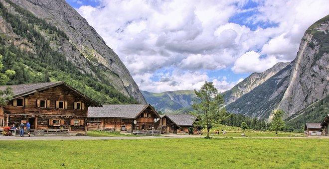 Nature, Mountain, Wood, Grass, Panorama, Summer, Travel