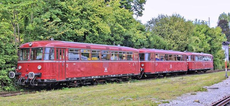Train, Transport System, Railway Line, Motor, Railway