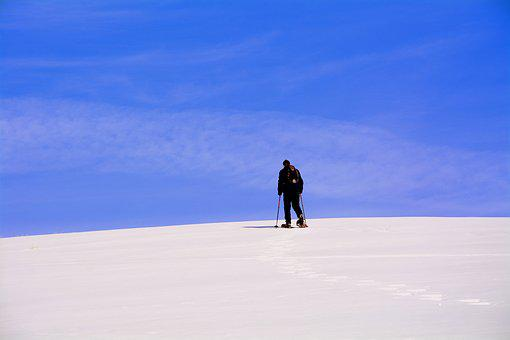 Excursion, Solitude, Snow, Outdoors, Sky, Travel