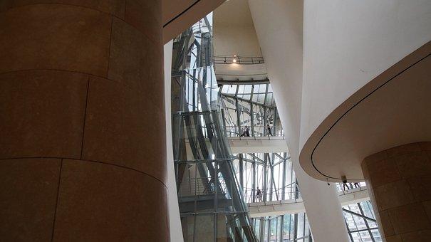 Bilbao, The Guggenheim Museum, Spain, Architecture