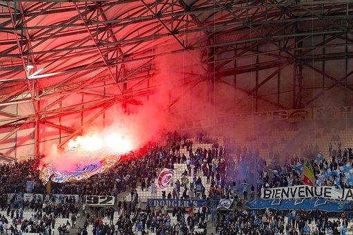 Football, Fans, Crowd, Stands, Stadium, Soccer, Sport