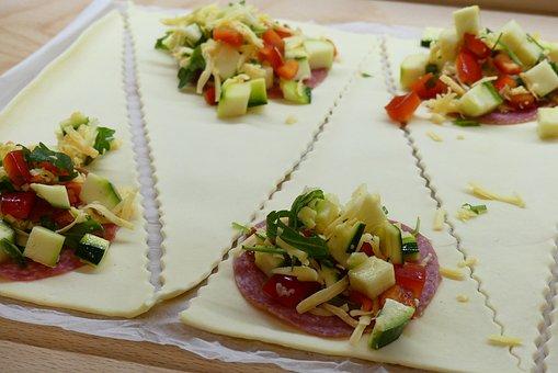 Food, Plate, Meal, Gourmet, Vegetables, Cheese, Starter