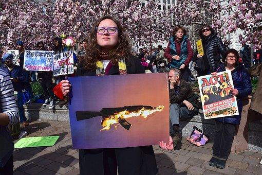 Protest, Sign, Demonstration, People, Symbol, Political