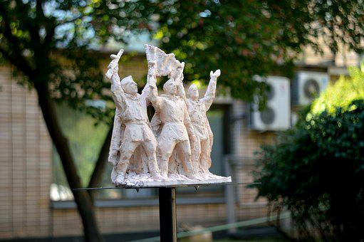 The Palace Of Pioneers, Moscow, Sculpture, Kids