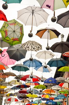 Umbrella, Protection, Screens, Awning, April Weather