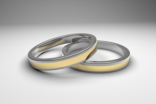 Ring, Wedding, Rings, Gold, Silver, Celebration