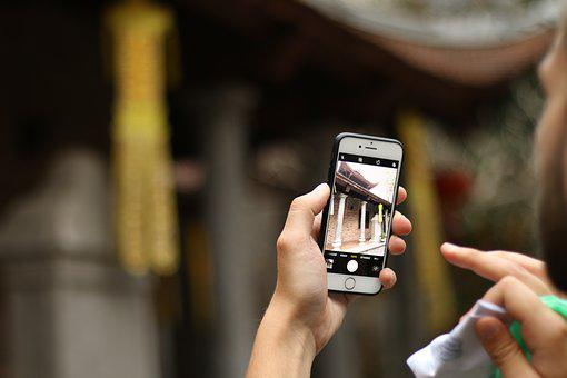Iphone, Photo, Photo Shoot, A Man, Mobile, Hand