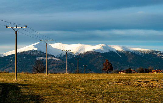Mountains, Baranec, Slovakia, Liptov, Meadow, Field
