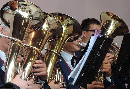 Brass Band, Horns, Musician