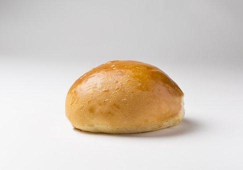 Bread Burger, Bread, Snack, Breakfast, Dessert