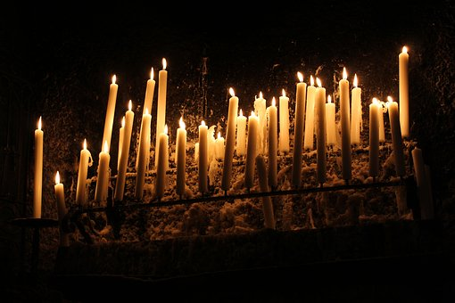 Candle, Candlelight, Light, Cozy, Warm, Atmosphere
