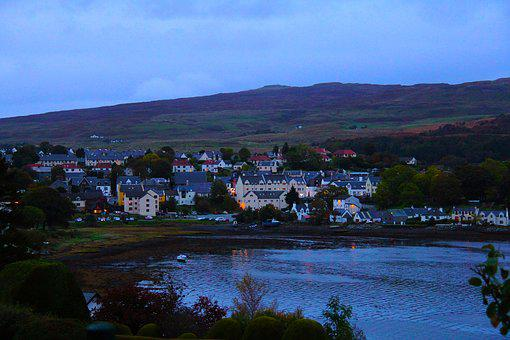 Beautiful, Amazing, Portree, City, Isle Of Skye