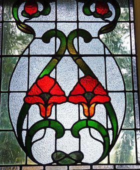 Stained Glass, Window, Art, Decoration, Pattern