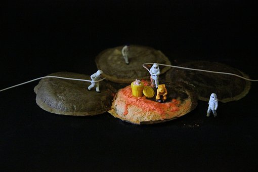 Coffee, Mold, Miniature Figures, Pad, Food, Gift