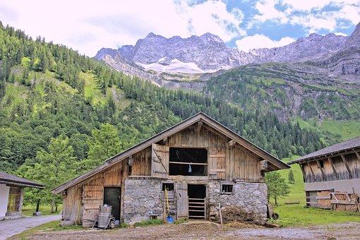 Wood, Mountain, Tree, Nature, Home, Farm, Landscape