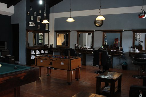 Room, Furniture, In, Chair, Inside, Barber Shop