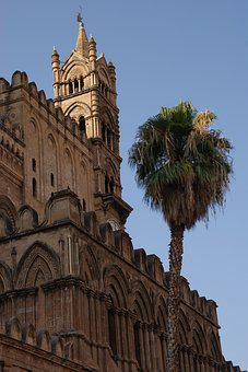 Palermo, Italy, Italia, Architecture, Building, Travel