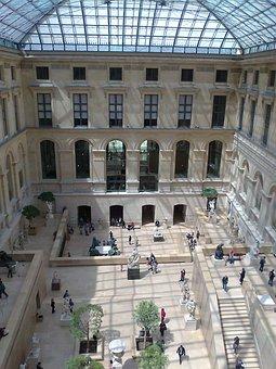 Architecture, Building, City, Travel, Urban, Louvre