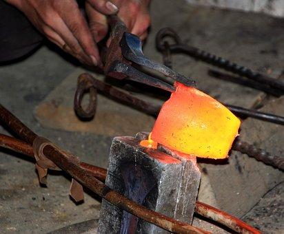 Bronze Cast, Iron, Cast, Mold, Craft, Celts