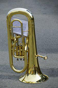 Brass, Music, The Jazz, No Person, Cornet, Tuba