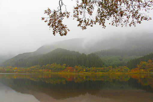Mystical, Mysterious, Beautiful, Loch Lubnaig, Nature