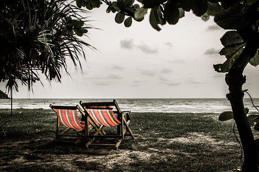 Beach, Sadly, Thailand, Worthless, Seaside