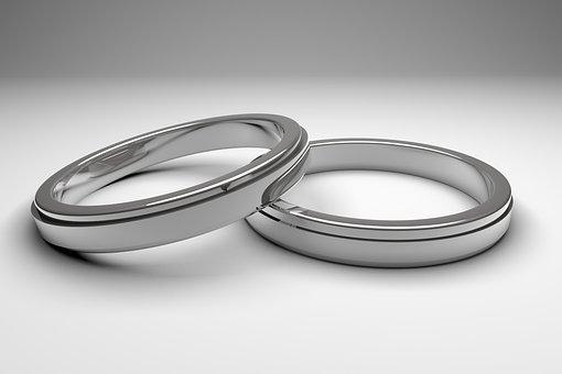 Ring, Wedding, Rings, Silver, Celebration, Obligation