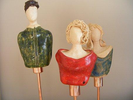 Woman, Sculpture, Male, Ornament, Figure, The Art Of