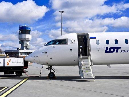 Vliegterrein, Transport, Plane, Travel, Aircraft