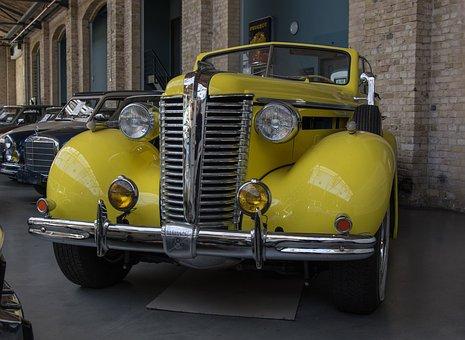 Auto, Buick, V8, Oldtimer, Classic, Cabriolet, Chrome