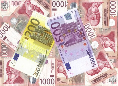 Currency, Wealth, Finance, Business, Savings, Euro