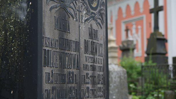 Vilnius, Lithuania, Lietuva, Cemetery