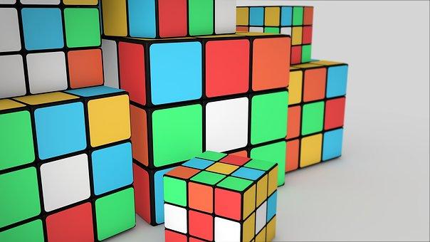 Cube, Geometric, Business