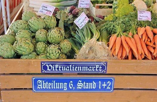 Market, Food, Vegetables, Fresh, Final Sale, Box