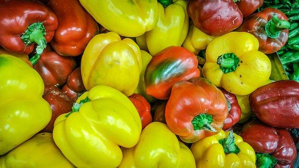 Food, Vegetable, Market, Pepper, Healthy